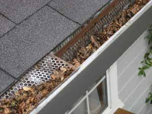 Clear Gutters and Check Downspouts